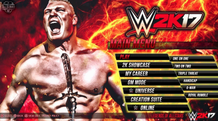 Wwe2k17 Game iOS Latest Version Free Download