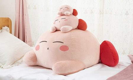 Massive Kirby Plush Revealed